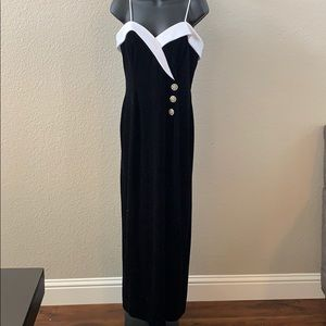 Vintage Betsy & Adam Formal Evening Prom Dress